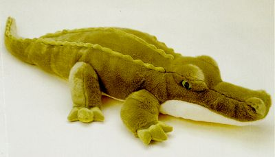 Aurora Super Swampy Plush Stuffed Alligator