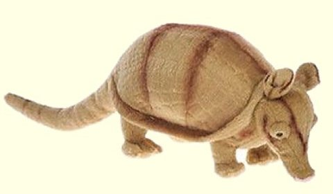 Fiesta Stuffed Plush Armadillo
