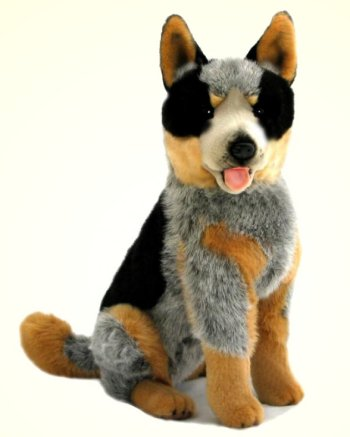 Bocchetta Rocky Plush Australian Cattle Dog Stuffed Animal