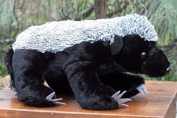 Wild Republic Honey Badger Stuffed Animal