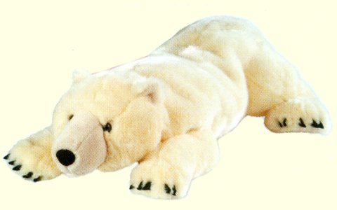 Wild Republic Cuddlekins Polar Bear