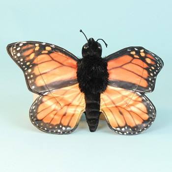 Sunny & Co. Stuffed Monarch Butterfly Hand Puppet