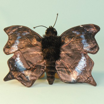 Sunny & Co. Stuffed Mourning Cloak Butterfly Hand Puppet