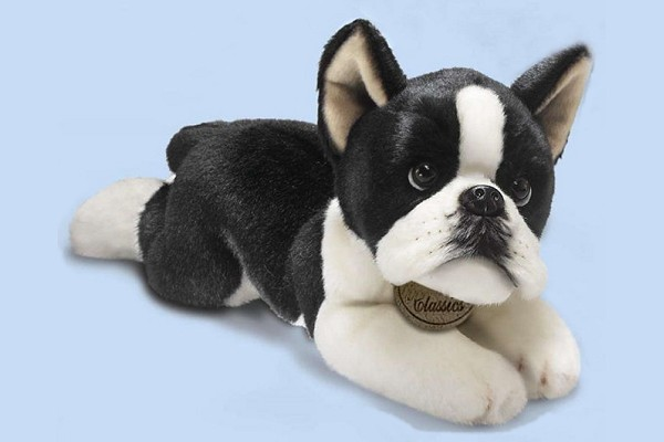 Plush Boston Terrier Stuffed Animal