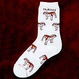 Bulldog Socks from CritterSocks.com