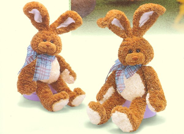 Stuffed Plush Easter Rabbits