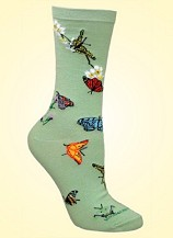 Butterfly Socks from CritterSocks.com