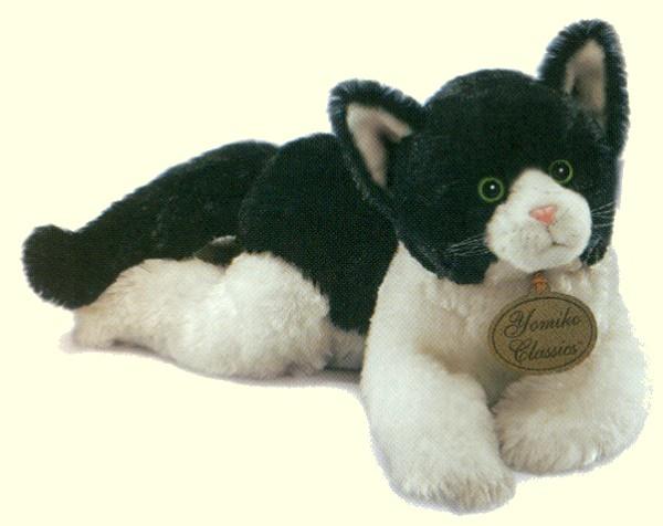 Black And White Cat Stuffed Animal