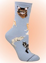 Cat Socks from CritterSocks.com
