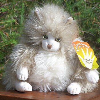 Plush Fluffy Cat Stuffed Animal