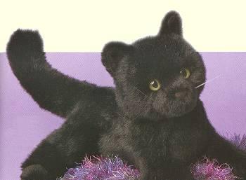 Black Cat Stuffed Animal