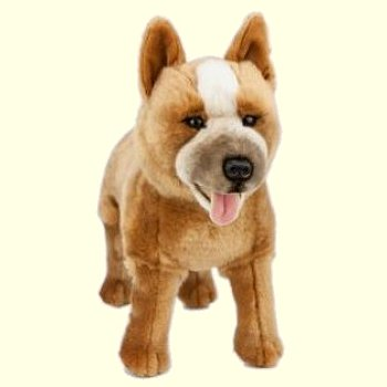 Bocchetta Jessie Red Plush Australian Cattle Dog Stuffed Animal