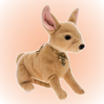 Stuffed Plush Chihuahua Handbag
