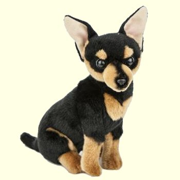 Bocchetta Taco Plush Brown and Tan Chihuahua Stuffed Animal