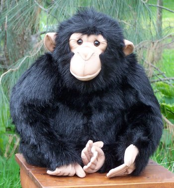 Hansa Stuffed Plush Chimpanzee