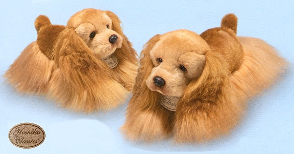 Yomiko Stuffed Plush Cocker Spaniels