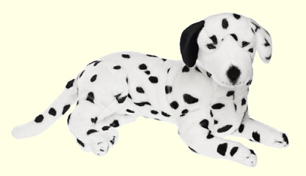 Bocchetta Lady Plush Dalmatian Stuffed Animal