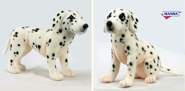Hansa Stuffed Plush Dalmatians