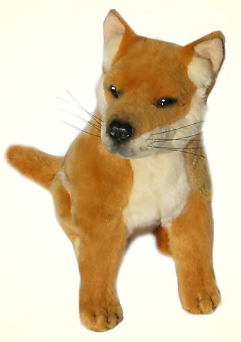 Bocchetta Byron Stuffed Plush Sitting Dingo