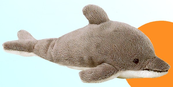 BIG Stuffed Plush Dolphin from Fiesta