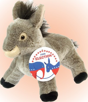 Wild Republic Election Donkey