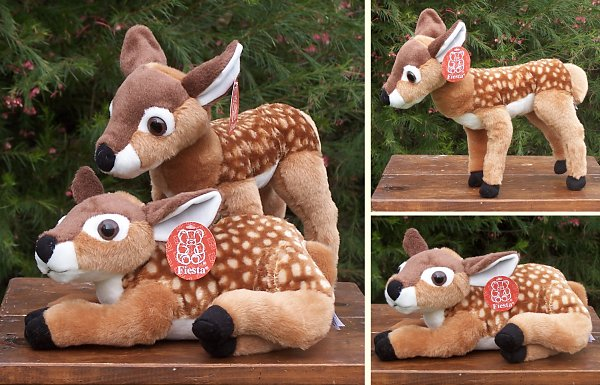 Fiesta Stuffed Plush Fawns