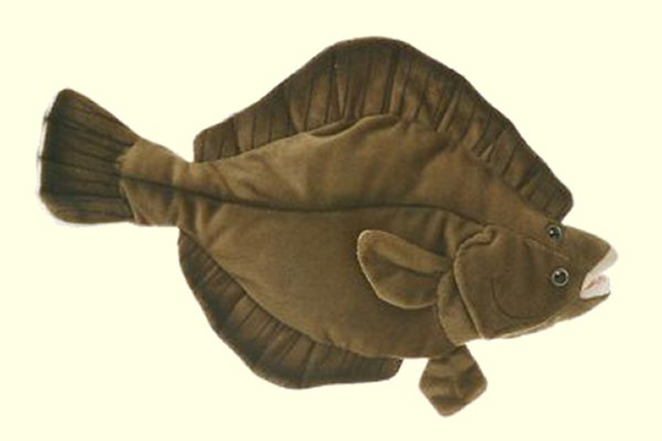Cabin Critters Stuffed Plush Flounder