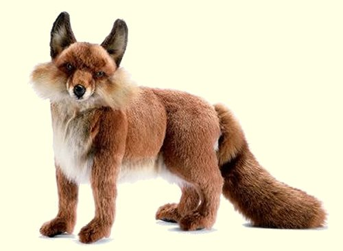 Hansa Stuffed Plush Red Fox