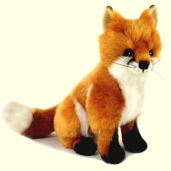Bocchetta Reynard Stuffed Plush Red Fox