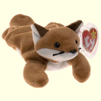 Ty Sly Red Fox Beanie Baby