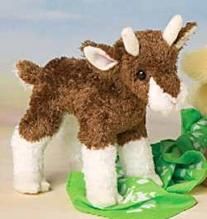 Douglas Buffy Plush Baby Goat