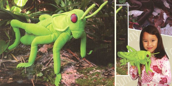 Sunny Stuffed Plush Grasshopper