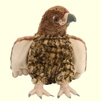 Wild Republic Stuffed Plush Red Tailed Hawk