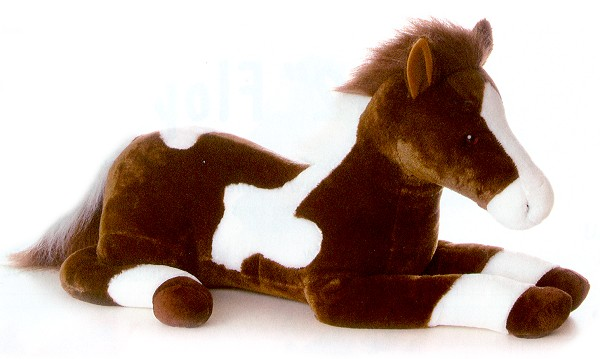 Aurora Stuffed Plush Paint Horse