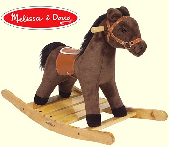 Stuffed Plush Rocking Horse From Stuffed Ark