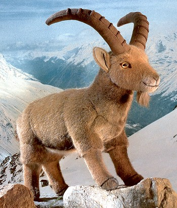 Kosen Stuffed Plush Ibex