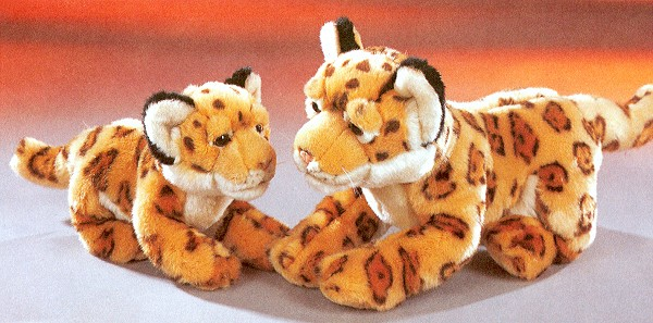 Stuffed Plush Jaguars