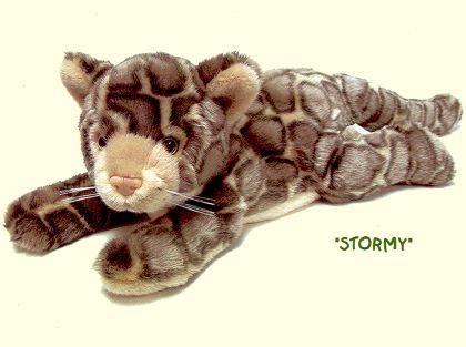 Plush Clouded Leopard Stuffed Animal