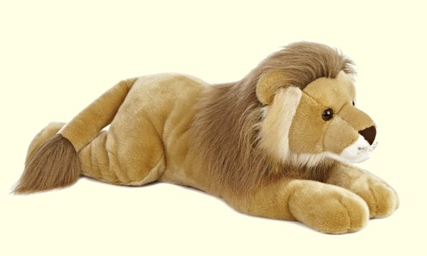 Aurora Super Leo Plush Lion