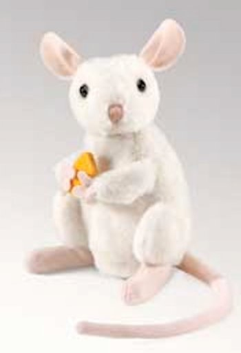 Folkmanis Nibbling Mouse Hand Puppet