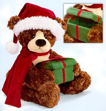 "GUND ""Mylar"" Plush Holiday Bear"