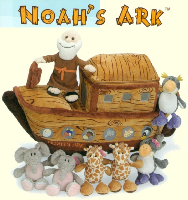 Small Plush Noah's Ark Play Set
