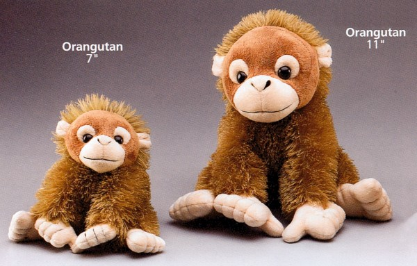 Wildlife Artists Plush Orangutans