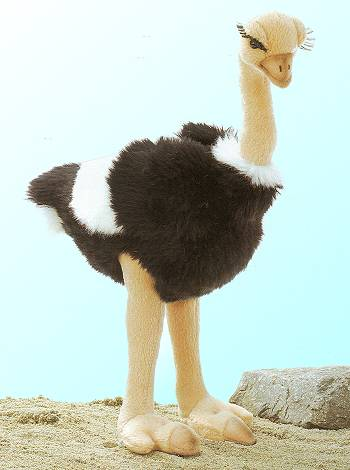 Fiesta Stuffed Plush Ostrich