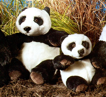 Wild Republic Stuffed Plush Pandas