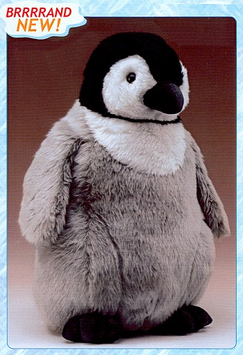 Stuffed Plush Emperor Penguin Chick