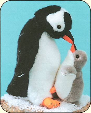 Fiesta Stuffed Plush Gentoo Penguins