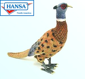 Stuffed Plush Pheasant from Hansa