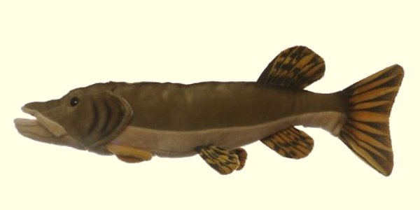 Cabin Critters Stuffed Plush Northern Pike