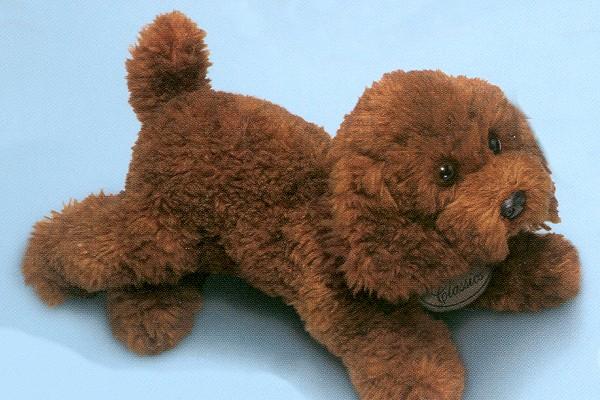 Brown Poodle Stuffed Animal